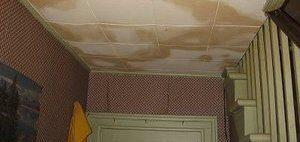 Water Damage Ceiling Restoration