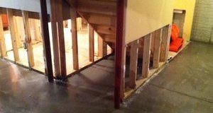 First Floor Flooding From Water Damage