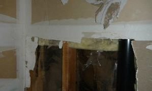 Water Damage and Mold Infestation In Drywall