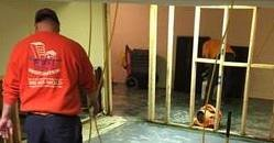 Water Damage Wynwood Technicians Cleaning Carpet After A Flood