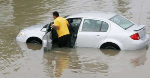 Don't Drive in Flood Water