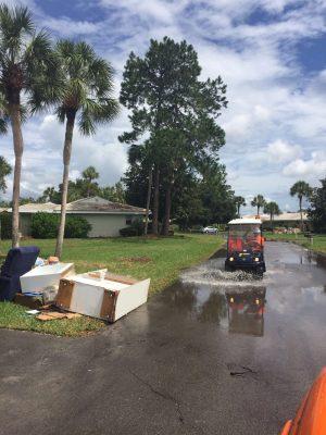 Hurricane Matthew Floods Florida