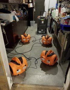 water-damage-residential-garage